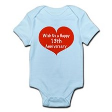 Wish us a Happy 13th Anniversary Infant Bodysuit