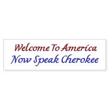 Welcome To America Cherokee