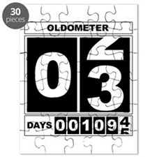 3rd Birthday Oldometer Puzzle