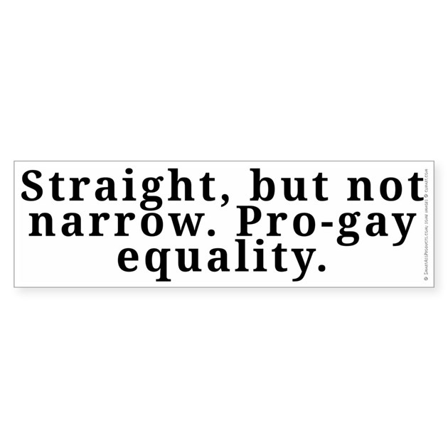gay straight equality