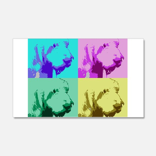 Spinone a la Warhol 2 Wall Decal