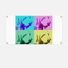 Spinone a la Warhol 2 Banner