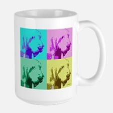 Spinone a la Warhol 2 Mug