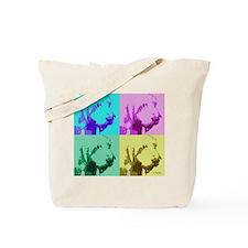 Spinone a la Warhol 2 Tote Bag