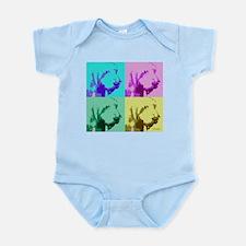 Spinone a la Warhol 2 Infant Bodysuit