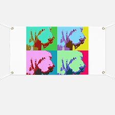 Spinone a la Warhol 3 Banner