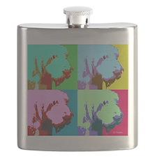 Spinone a la Warhol 3 Flask