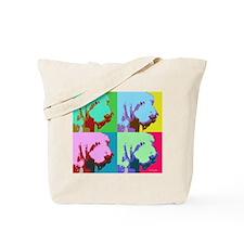 Spinone a la Warhol 3 Tote Bag