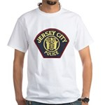 Jersey City Police White T-Shirt