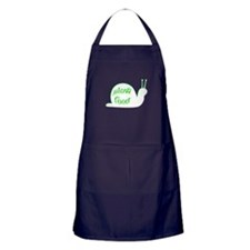 Slow Food Snail Apron (dark)