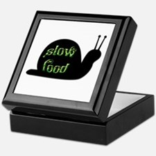 Slow Food Snail Keepsake Box