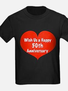 Wish us a Happy 50th Anniversary T