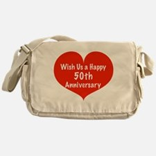 Wish us a Happy 50th Anniversary Messenger Bag