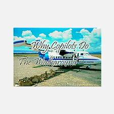 Pilots Humor Magnet, Copilots Do Walkaround