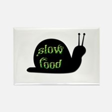 Slow Food Snail Rectangle Magnet