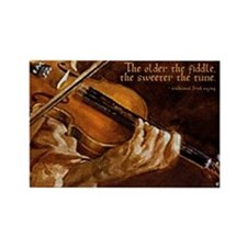 The older the fiddle - Rectangle Magnet (10 pack)