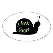 Slow Food Snail Decal