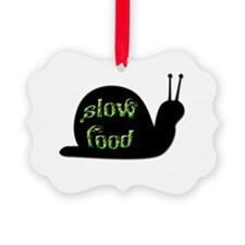 Slow Food Snail Ornament