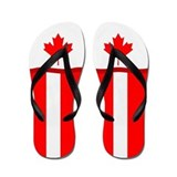 Canadian flag flip flops Kids Accessories