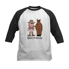 Best Friends Horse Cowgirl Tee