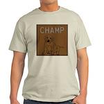OYOOS Champ Dog design Light T-Shirt