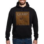 OYOOS Champ Dog design Hoodie (dark)