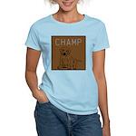 OYOOS Champ Dog design Women's Light T-Shirt