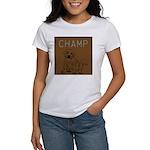 OYOOS Champ Dog design Women's T-Shirt