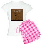 OYOOS Champ Dog design Women's Light Pajamas