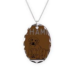 OYOOS Champ Dog design Necklace