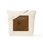 OYOOS Champ Dog design Tote Bag
