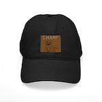 OYOOS Champ Dog design Black Cap