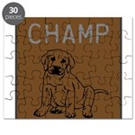 OYOOS Champ Dog design Puzzle