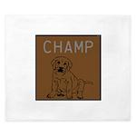 OYOOS Champ Dog design King Duvet