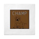 OYOOS Champ Dog design Queen Duvet