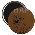 OYOOS Champ Dog design Magnet