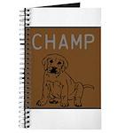 OYOOS Champ Dog design Journal