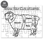 Know Your Cuts of Lamb Puzzle