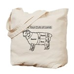 Know Your Cuts of Lamb Tote Bag