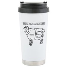 Know Your Cuts of Lamb Thermos Mug