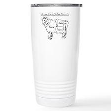 Know Your Cuts of Lamb Travel Mug