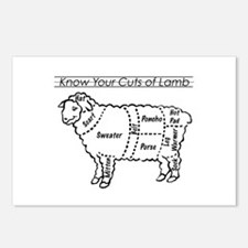 Know Your Cuts of Lamb Postcards (Package of 8)
