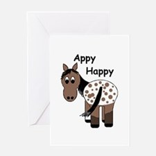 Appy Happy, Greeting Card