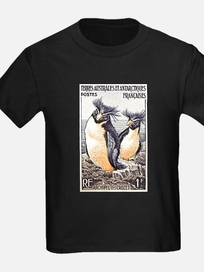 French Antarctica Penguin Stamp 1956 T