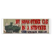 My sons other car Bumper Bumper Sticker