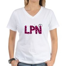 LPN fuschia and polka dots.PNG Shirt