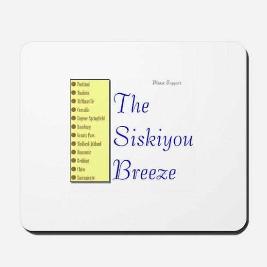 Siskiyou Breeze Mousepad