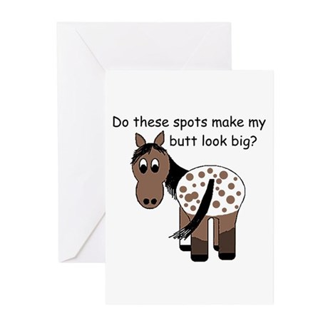 Big Butt Appy Greeting Cards (Pk of 10)