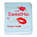 OYOOS Swee Heart design baby blanket