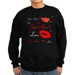 OYOOS Swee Heart design Sweatshirt (dark)